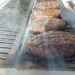 Hamburger van Partycatering de Vallei